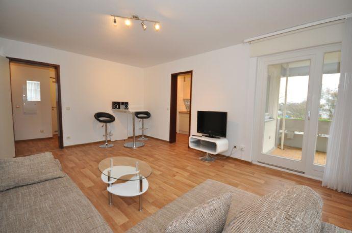 Möblierte 2-Zimmerwohnung im modernen Stil