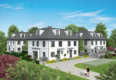 Großzügige DHH mit ca. 205m² Wohn- & nutzb. Fläche, TG, absolut ruhig, beste Südlage v. Bogenhausen