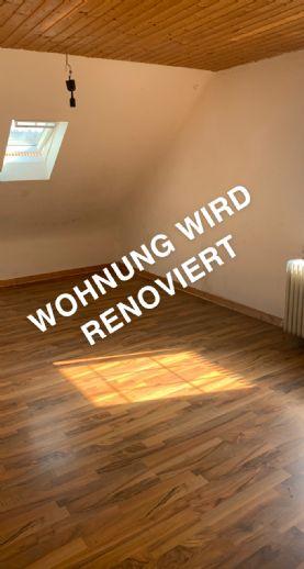 3-ZKB Helle Dachgeschosswohnung in Wadgassen zu vermieten - WIRD RENOVIERT - Ruhige Lage