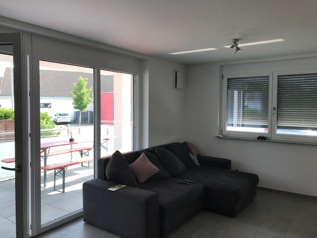 3-Zimmer-Erdgeschoss-Wohnung mit Balkon und TG-Stellplatz