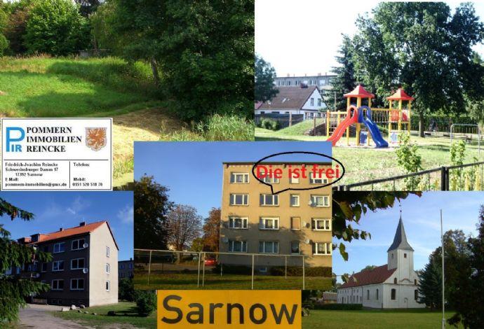 2-Zimmer-Wohnung in Sarnow zu vermieten