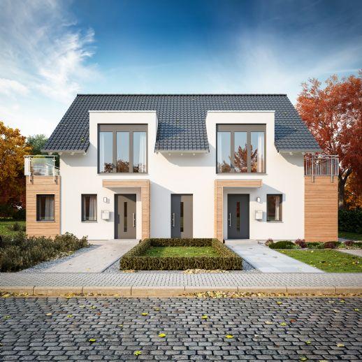 2 Doppelhaushälften: EIN Zuhause für ZWEI Familien in Bruchköbel!