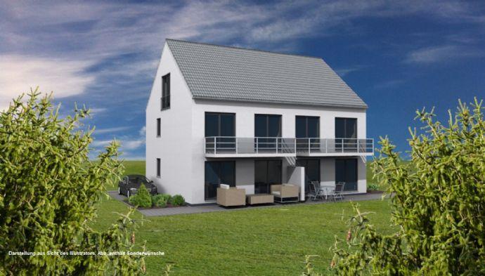 Attraktive Neubau-Doppelhaushälfte zum Preis einer ETW!