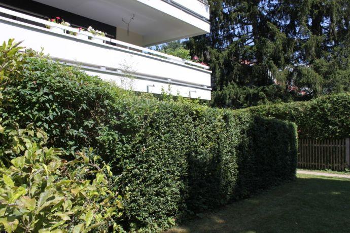 Sehr schöne Terrassen-Wohnung, möbliert in Solln zu vermieten!