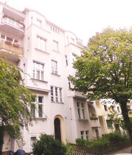 Ruhig gelegene 2-Zimmer-Wohnung mit direktem Gartenzugang in Steglitz