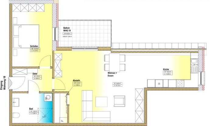 Wohnung zu kaufen in Zerf - A17514