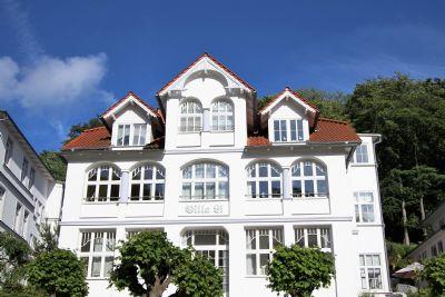 4**** FeWo Herzmuschel in historischer Villa Li, 3-Zimmer, 67qm Wfl. + 30 qm Terrasse, komplett renoviert, Top-Lage Wilhelmstraße, strandnah