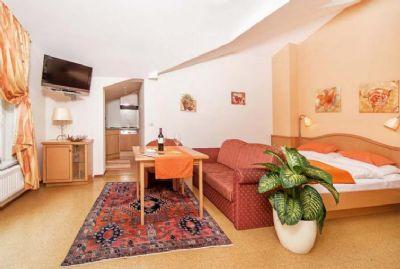 Doppelzimmer im Appartementhaus Tristenau