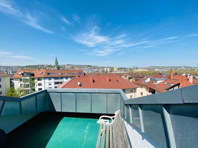 Tolle DG-Maisonettewohnung in Stuttgart-Ost