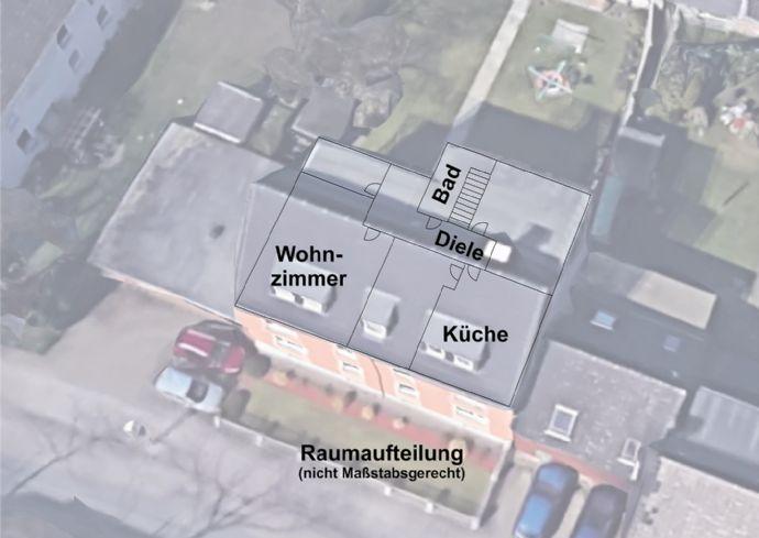 3,5-Raum-Wohnung in Gelsenkirchen Bismarck inkl. Gartennutzung