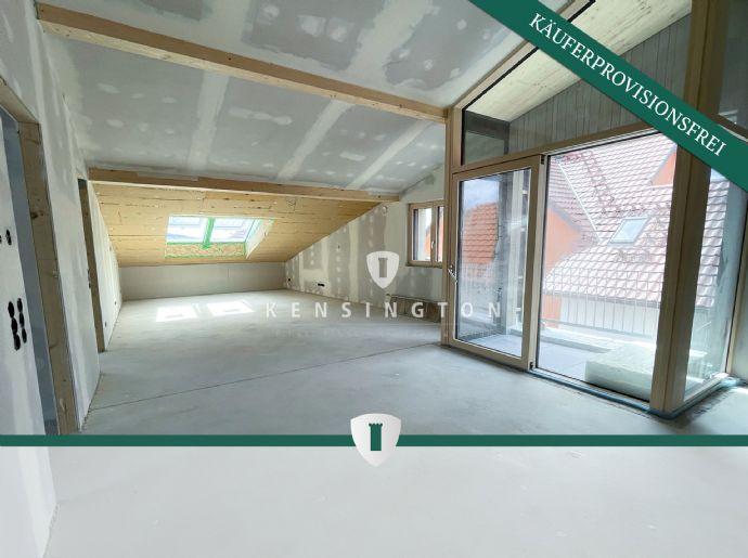 (Seesicht, KFW40) 3-Zi.-DG-Wohnung Nr. 7.3.2 im grünsten Wohnquartier am Bodensee