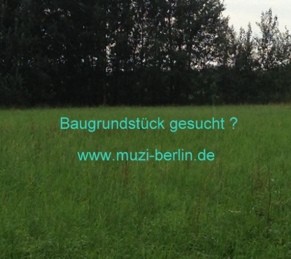 - Nähe Trabrennbahn/ Baugrundstück in Top Lage (Bauvorbescheid liegt vor) -