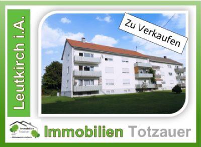 Leutkirch im Allgäu Wohnungen, Leutkirch im Allgäu Wohnung kaufen