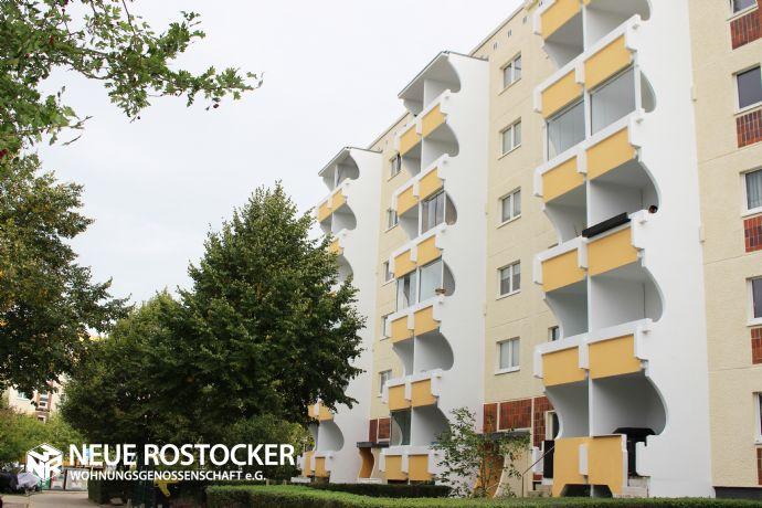 3-Raum-Wohnung mit Balkon in ruhiger Lage