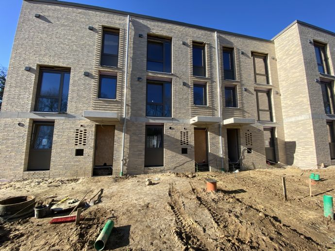 Noch 2020 einziehen: 2 Neubau-Stadthäuser in Südausrichtung mit Dachterrasse, neben Knoops Park!