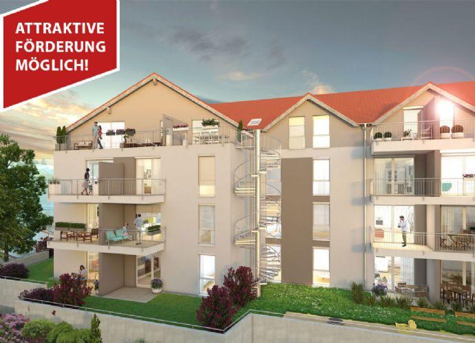 4 ZKB Neubauwohnung mit 2 Balkonen in Ludwigshafen Burgundenhof!