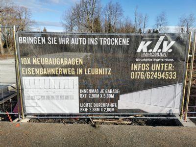Werdau Garage, Werdau Stellplatz