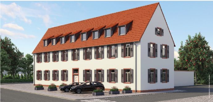 3-Zimmer Wohnung für Eigennutzer / Kapitalanleger in zentraler Lage von MA-Seckenheim ( Denkmalschutz )
