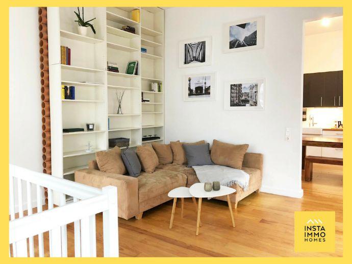 Voll möblierte stilvolle Maisonettewohnung in Altona-Altstadt