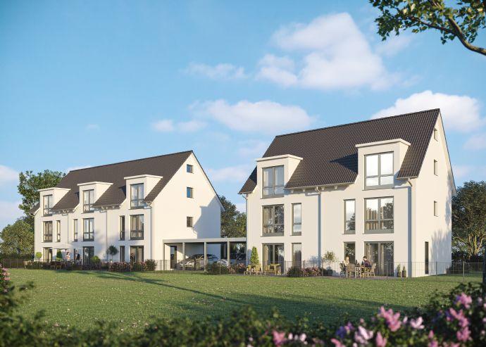 !! jetzt schnell sein - nur noch eine DHH verfügbar !! -:- NEUBAU - Doppelhaushälfte in TOP-Lage von Erlangen- Bruck nähe neuem Siemens Campus