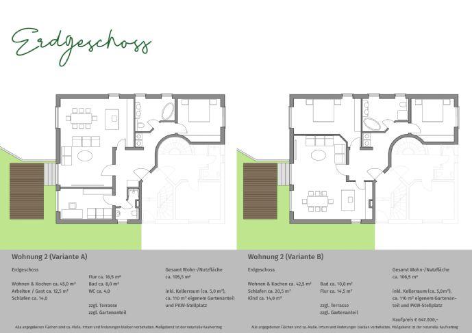 [PROVISIONSFREI] Letzte Gelegenheit: Großzügige Erdgeschosswohnung mit eigenem Garten