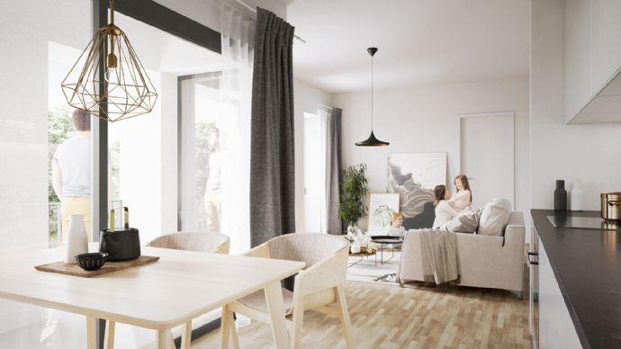 ..zu Fuß in die Altstadt - Erstbezug mit Sanierungs-AfA! Südloggia - individuell, modern, 2 Zimmer mit vielen Vorteilen!