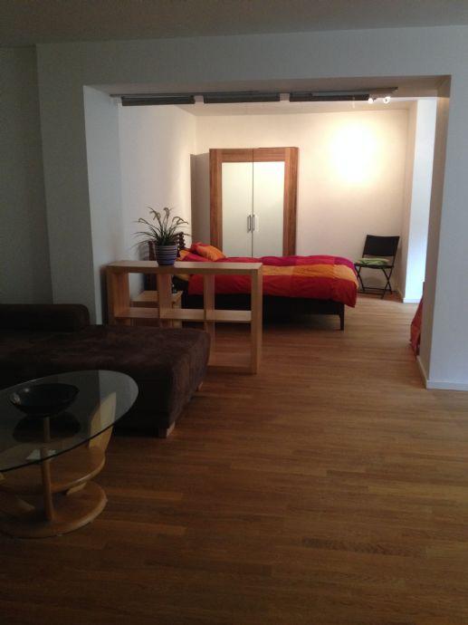 1-Zimmer-Wohnung mit Terrasse und Gartennutzung
