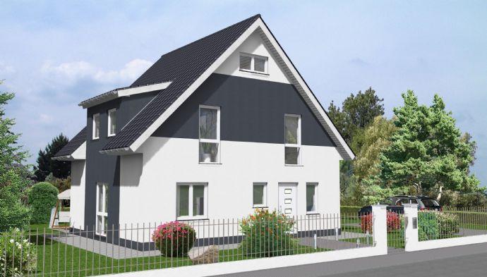 Im Alleinauftrag: Ludwigsfelde (Groß Schulzendorf): Grundstück mit individuell geplanter Bebauung für ein Einfamilienhaus.