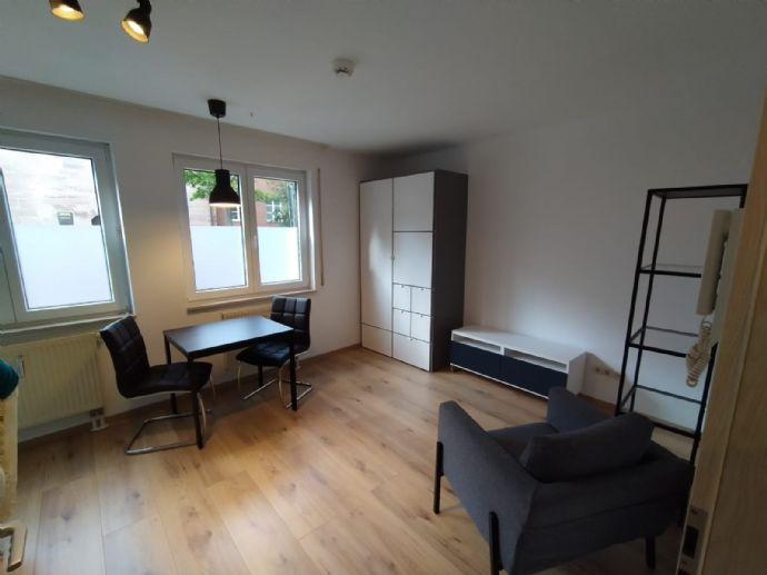 Komplett renoviertes & neu möbliertes Erdgeschoss-Apartment in der Uni-Residenz