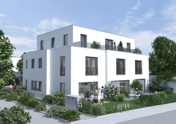 REH- Nr.7/ Neubau von 6 DHHs + 3 RHHs/ Bestlage Waldtrudering
