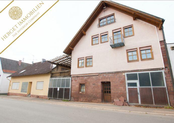 Mehrgenerationenanwesen mit 2 Immobilien & Werkstatt