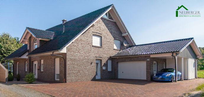 -Keine Käuferprovision- Gepflegtes, großzügiges Wohnhaus mit Einliegerwohnung, Garage und Carport