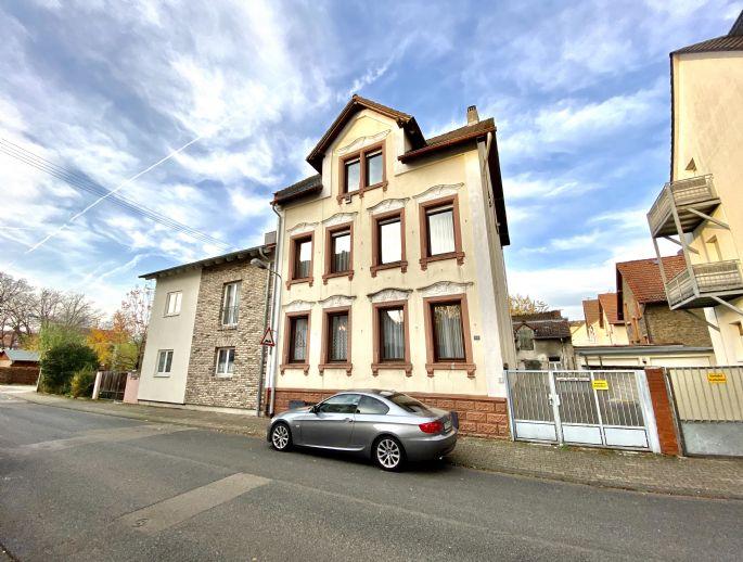 Mehrfamilienhaus mit Schmuckfassade in F-Schwanheim