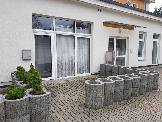 Helle 2-Zimmer-Wohnung mit großen Fenstern und Terrasse