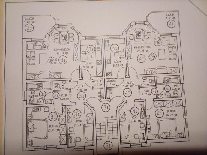 Wohnen im schönen Lützellinden // Attraktive 3-Zimmerwohnung mit Balkon