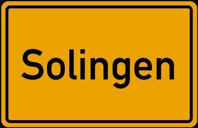 Solingen Grundstücke, Solingen Grundstück kaufen