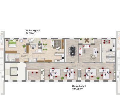 Brannenburg Büros, Büroräume, Büroflächen