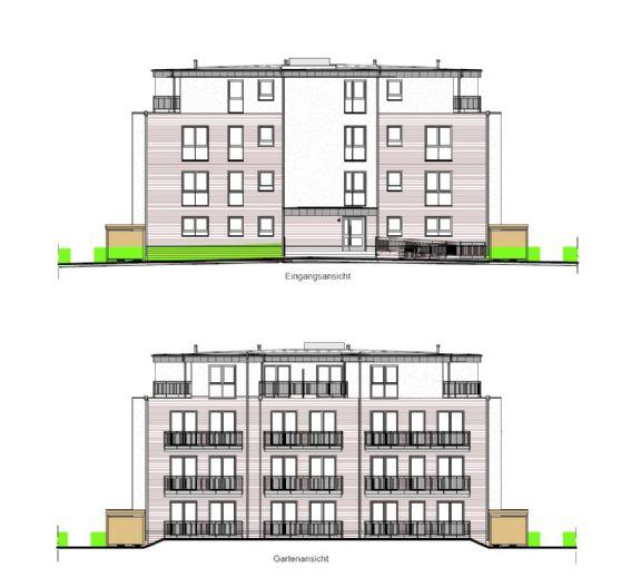 Neubau! - Schicke 1 Raum-Wohnung in Hamburg