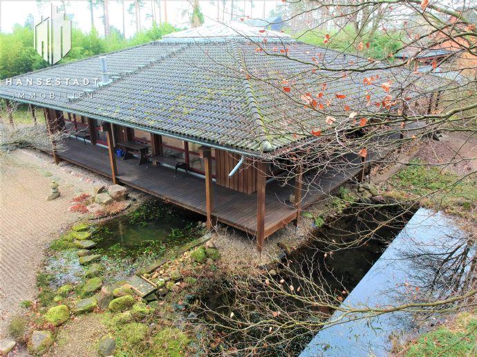 Exklusives Architektenhaus in ruhiger, idyllischer Lage mit direktem Waldzugang