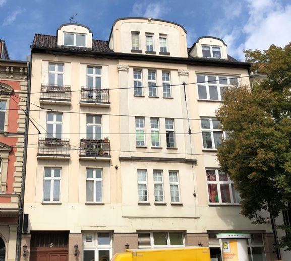 Innenstadt: ruhige Lage mit Balkon und Stellplatz