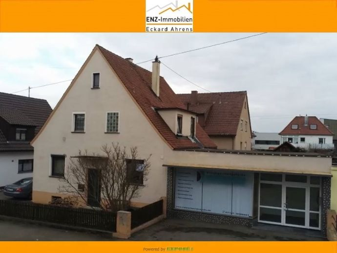 Einfamilienhaus mit Gewerbeeinheit, Ludwigsburg-West
