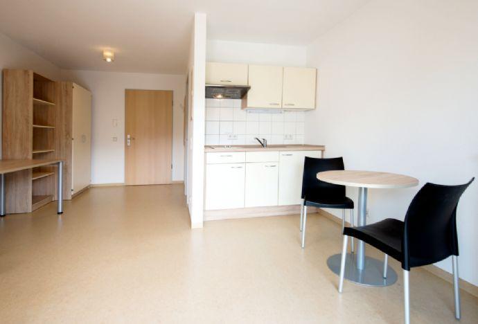 Ideal für Studenten&Azubis! Modernes Mikro-Apartment im Neubau! Zentral & teilmöbliert mit Balkon