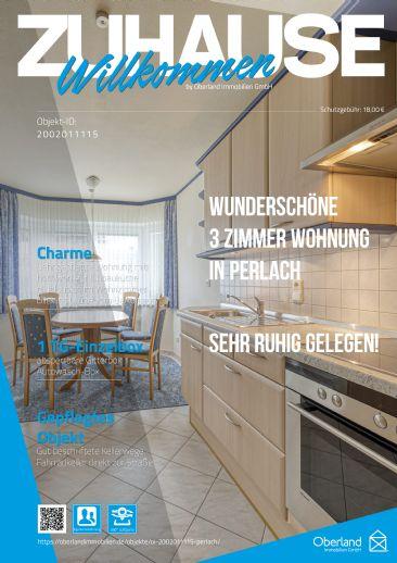 Wunderschöne 3 Zimmer Wohnung sehr ruhig gelegen in Perlach