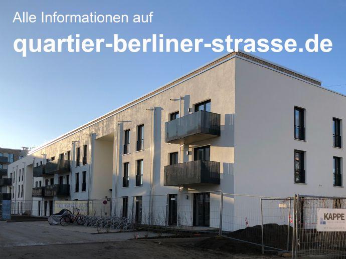 Neubau-Erstbezug: 5-Zimmer-Wohnung mit Dachterrasse im Quartier Berliner Straße