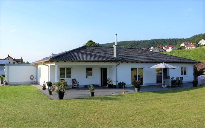 Neuwertiges Einfamilienhaus mit Gewerbeeinheit