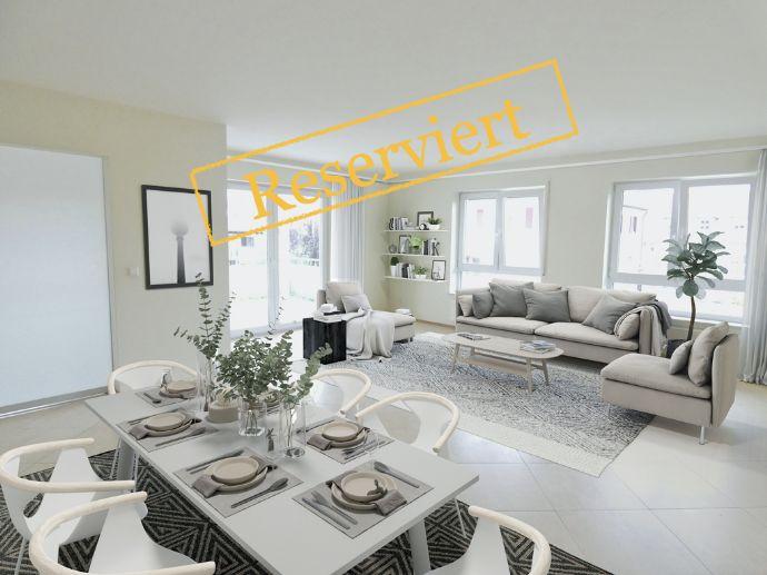 Nahe Reutlingen - helle 4-Zimmer-Wohnung in ruhiger Wohnlage