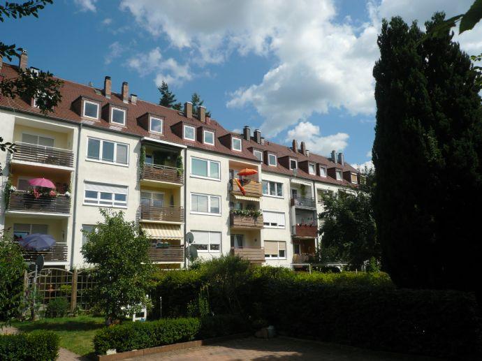 3-Zimmer Wohnung mit Südbalkon in attraktiver Wohnlage von Bayreuth
