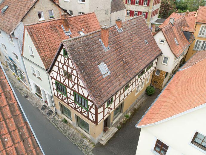 Platz, Charme & Historie â Individuelle Nutzungsarten zum Wohnen & Arbeiten im schönen Marktbreit