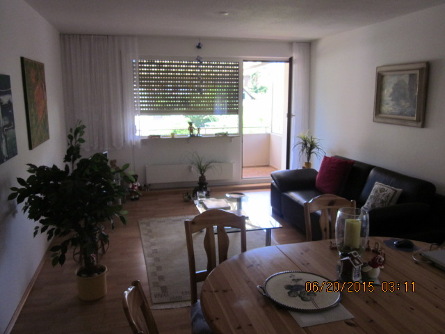 Büsingen schöne  2  Zimmer  ( Ferien) Wohnung   mit Terrasse und Badewiese am Rhein ab sofort zu Vermieten