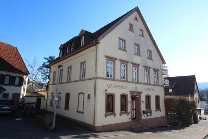 Viele Nutzungsmöglichkeiten! Eindrucksvolle Gaststätte und Pension in Neckargemünd